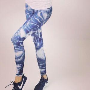 Marble DYI leggings